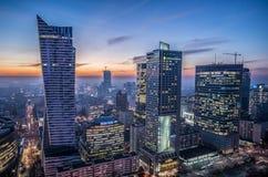 Взгляд в Варшаве Стоковое Изображение