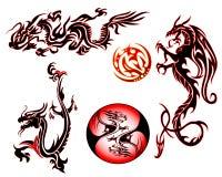 дракон собрания Стоковые Фото