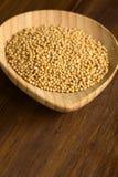 Κίτρινοι σπόροι μουστάρδας Στοκ φωτογραφίες με δικαίωμα ελεύθερης χρήσης