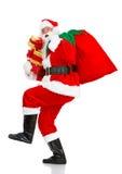 圣诞节愉快的圣诞老人 库存照片