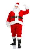 圣诞节愉快的圣诞老人 免版税图库摄影
