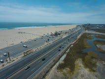 海岸高速公路太平洋 库存照片