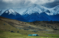 美丽风景亚瑟通行证重要旅行的目的地 免版税库存图片