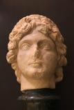 妇女古色古香的罗马胸象  免版税库存图片