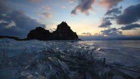 冬天贝加尔湖的看法 影视素材