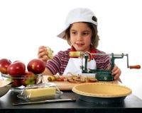 制造商饼年轻人 免版税库存照片