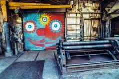 Граффити в Тель-Авив Стоковые Изображения