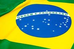 бразильский флаг Стоковое фото RF