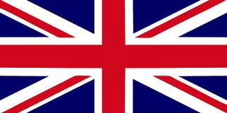 флаг Британии большой Стоковые Фотографии RF