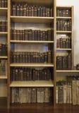 修道院老图书馆 库存图片