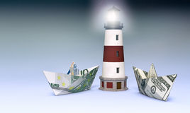Έννοια της χρηματοδότησης Στοκ Φωτογραφία