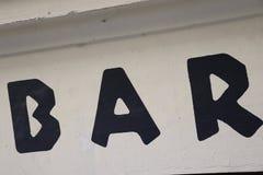 酒吧在布拉格 免版税库存图片