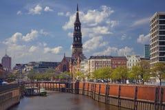 Γερμανία Αμβούργο Στοκ εικόνες με δικαίωμα ελεύθερης χρήσης