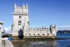 贝拉母里斯本,葡萄牙塔  免版税库存照片