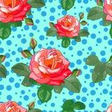 Картина с розами Стоковое Фото