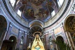 圣贾科莫在奥古斯塔教会,罗马,意大利里 图库摄影