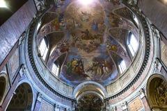 圣贾科莫在奥古斯塔教会,罗马,意大利里 库存图片