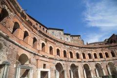 Старая скульптура и архитектура Рима Стоковое Изображение RF