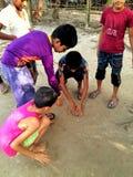 играть мраморов мальчиков Стоковые Фотографии RF