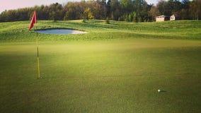 下午高尔夫球 库存图片
