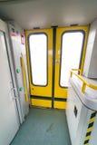 εσωτερικό τραίνο Στοκ Φωτογραφίες