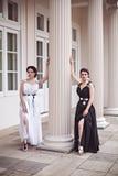 Φωτογραφία ύφους μόδας δύο κυριών μόδας Στοκ φωτογραφία με δικαίωμα ελεύθερης χρήσης