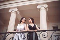 κυρίες δύο μόδας Στοκ εικόνα με δικαίωμα ελεύθερης χρήσης