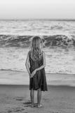 прибой моря точного золота склонения добросердечный Стоковая Фотография