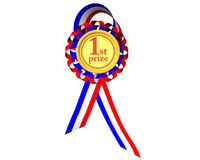 第一个奖牌奖 免版税库存图片