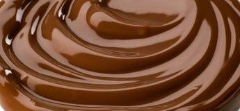 στρόβιλος σοκολάτας Στοκ Εικόνες