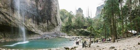 Большой водопад дракона Стоковое Фото