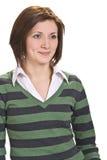 χαμογελώντας γυναίκα Στοκ εικόνες με δικαίωμα ελεύθερης χρήσης