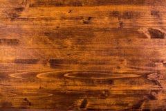 布朗硬木板表面 免版税图库摄影