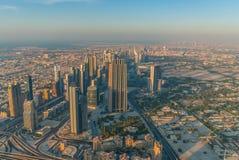 街市迪拜 免版税库存照片