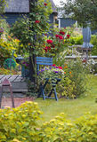 Λεπτομέρεια του χαρακτηριστικού ολλανδικού θερινού πεζουλιού Στοκ Φωτογραφίες