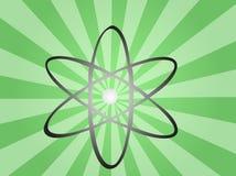 знак атома Стоковое фото RF