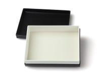 подарок черного ящика Стоковое Изображение