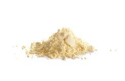 硫磺或者硫磺,粉末 库存图片