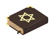 Книжная иллюстрация библии еврея Стоковое Изображение