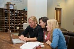 изучать студентов студента салона Стоковое Изображение