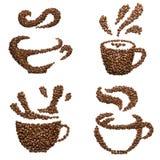 咖啡杯杯子梦想的重点前面有查找软的照片 库存图片