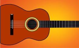 吉他音乐 库存照片