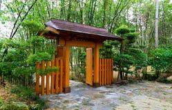 著名庭院日本传统 免版税库存照片