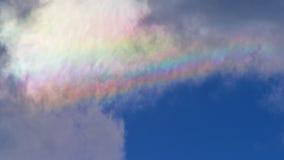 Иризация облака Стоковое Изображение