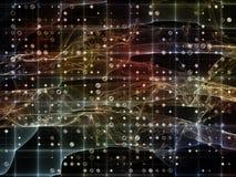 Виртуализация решетки цифров Стоковые Фото