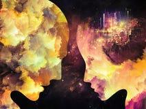 Энергия внутренних цветов Стоковые Фото