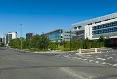 伯明翰城市大学在伯明翰,英国 免版税图库摄影