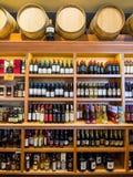 Ράφια κρασιού Στοκ Εικόνες