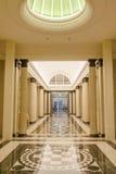 内部走廊 免版税库存照片
