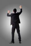 亚洲商人上升 免版税库存图片
